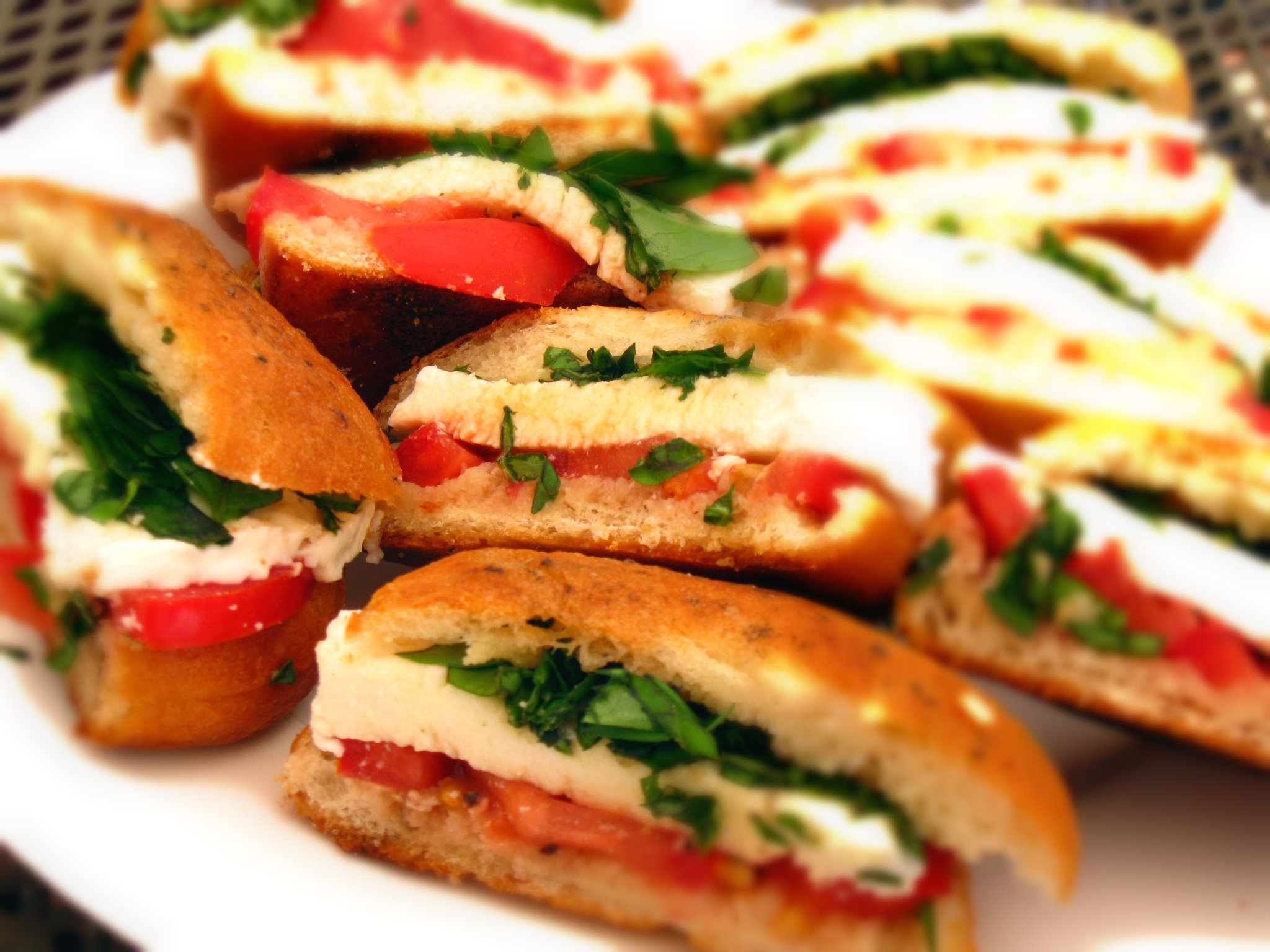 Caprese Mini Sandwiches Recipes — Dishmaps